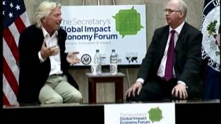 Secretary Clinton Hosts the Global Impact Economy Forum