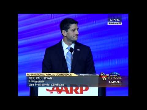 Paul Ryan booed by seniors at AARP convention over Medicare plan