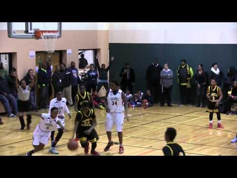 Benjamin Tasker vs Holy Trinity middle school 11 21 14