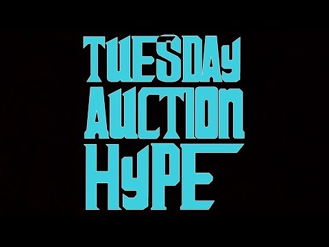 #thehobby #sportscards Tuesday Auction Hype | Baseball Cards | Football Cards | Chill & Chat