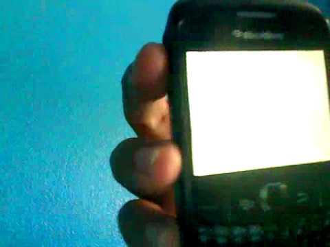 white screen!!! help me pls its a blackberry 8300 curve