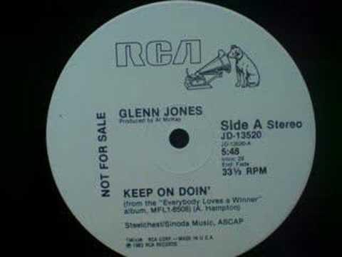 Glenn Jones - Keep on Doin