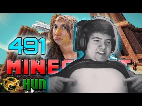 Minecraft: Hunger Games w/Mitch! Game 491 - Puuurston's Moist Bagels!
