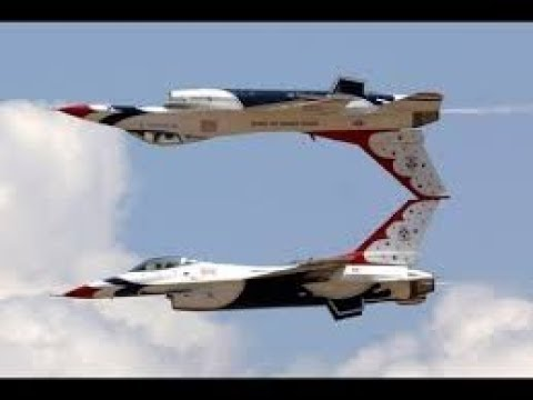 CRAZY STUNTS performed by US Military Aircraft Pilots Flying in Airshow