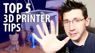 My Top 5 3D Printer Tips After Getting Your First #3DPrinter(, 2016-12-27T16:36:25.000Z)