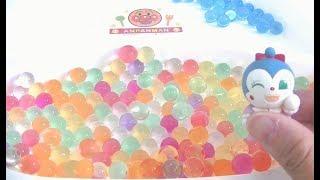 Orbeez Water Ball Toko Toko Challenge アンパンマン おもちゃ アニメ ぷよぷよボールをきれいにそろえてトコトコチャレンジ?!