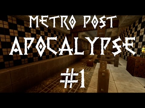 Metro Post Apocalypse #1 - Matvrak - Norsk Minecraft Adventure map