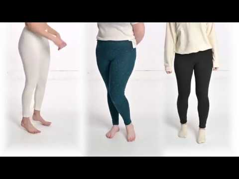 Organic Cotton Linen Hemp Leggings By Rawganique
