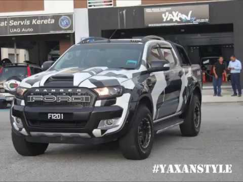 Fizo Omar Ford Ranger Camo - YouTube