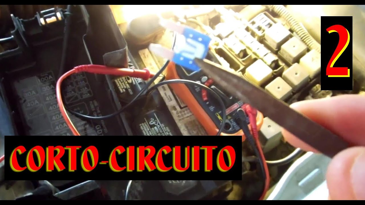 Ford Mondeo Mk4 Radio Wiring Diagram Kitchen Diagnostico De Corto Circuito En Luces Exteriores Que No Funcionan 2