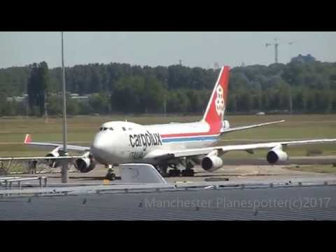 Plane spotting At (AMS) Amsterdam Schiphol Airport On The 14/06/2017