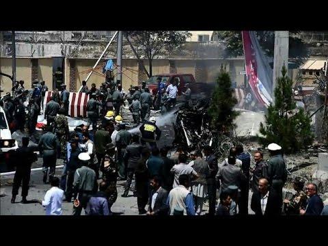 Taliban suicide blast hits Kabul airport road