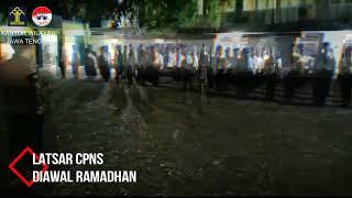 Latihan Dasar CPNS di Awal Bulan Ramadhan [17 Mei 2018]