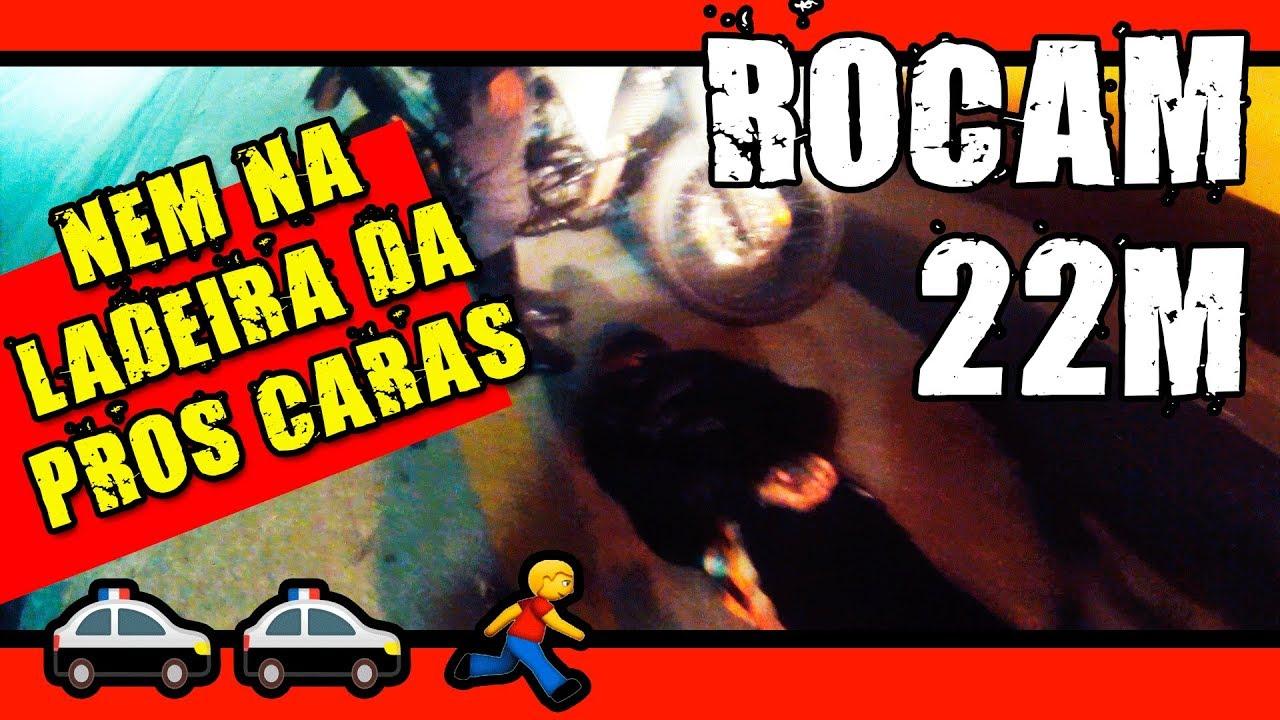 ROCAM 22M MOTO ROUBADA NEM NA LADEIRA DA PROS CARAS