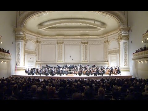 China's Top Orchestra Debuts at New York's Carnegie Hall
