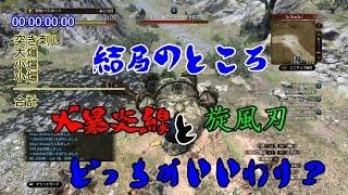 【PS4版DDON】結局のところ爆炎線と旋風刃どっちがいいわけ?【ドラゴンズドグマオンライン】 thumbnail