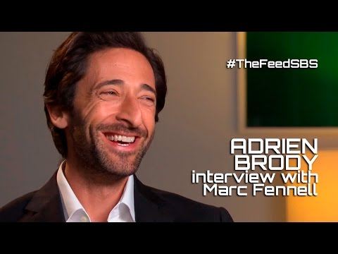 Adrien Brody on the Australian accent and the Notorious B.I.G. The Feed