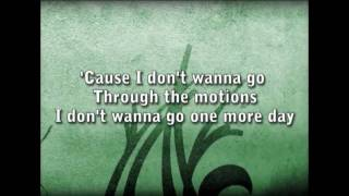 Matthew West - The Motions with Lyrics