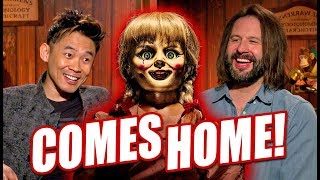 James Wan & Gary Dauberman Talk ANNABELLE COMES HOME And THE CONJURING UNIVERSE