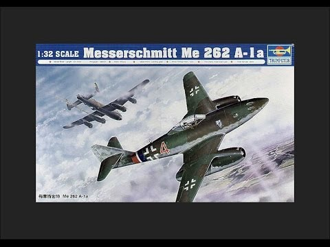 Trumpeter 1/32 Messerschmitt Me 262 A-1a Scale Model Review