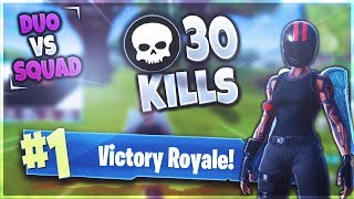 30 KILLS DUO vs SQUAD | Fortnite Battle Royale - mit SQL