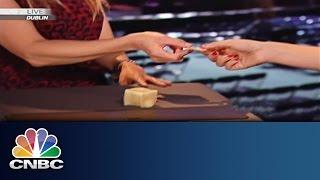 3D Printed Food: Taste Test | Dublin Web Summit | CNBC International