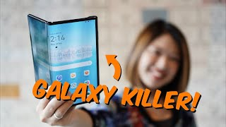 Galaxy Fold and Galaxy Z Flip Killer? Huawei Mate XS Hands-On Review