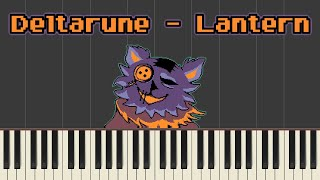Deltarune: Lantern (Seam's Shop) | Piano Tutorial (Synthesia)
