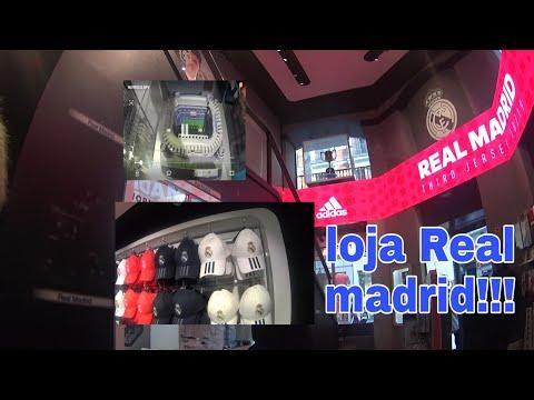 LOJA DO REAL MADRID ...LAFAMILIAESPANHA