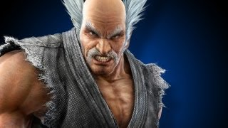Heihachi Beats up Radec - PlayStation All-Stars Battle Royale (Off-Screen)