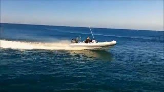 Atomix Boats 500 Rib Water Test Perth WA Hitech Marine