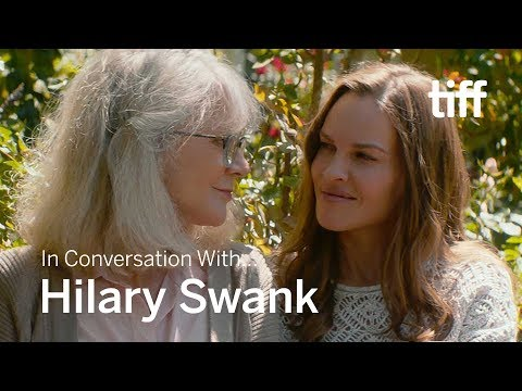 HILARY SWANK | In Conversation With... | TIFF 2018