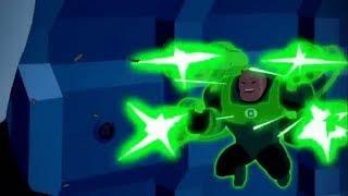 Green Lantern Corp Vs Fatal 5/Justice League vs fatal 5
