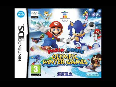 Mario and Sonic at the Olympic Winter Games [DS Music]: Rival Battle