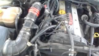 Работа двигателя X20xev без ДМРВ