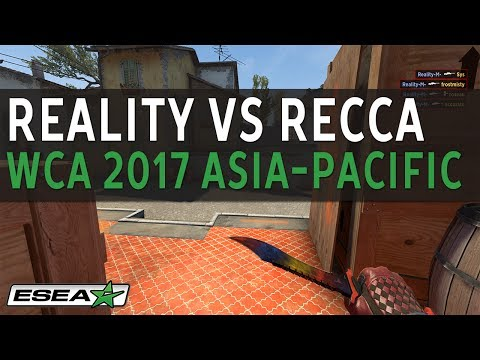 WCA 2017 Asia-Pacific Closed Qualifier Signature Reality vs. Recca