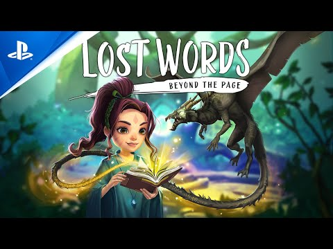 Lost Words: Beyond the Page - Launch Trailer | PS4