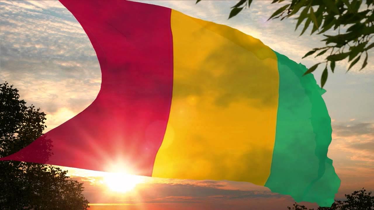 National Anthem of Guinea Hymne national de Guinée ...Les Ondes De Guinee