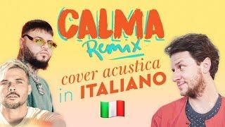 Baixar CALMA (Remix) in ITALIANO 🇮🇹 Pedro Capó, Farruko cover