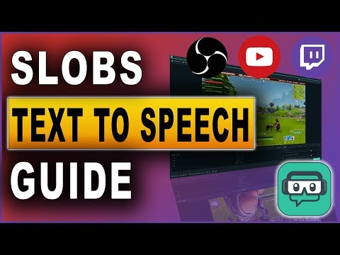 Streamlabs OBS | Text to Speech | Tutorial 2019 - YouTube