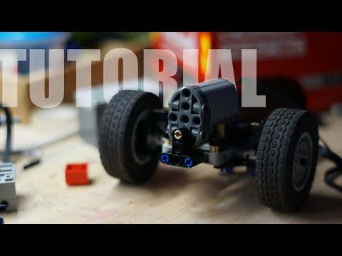 Lego Awd Steering System With Instructions Youtube