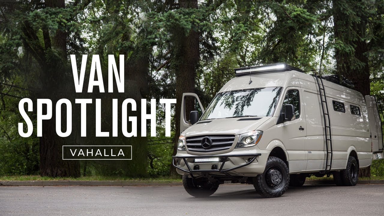 Van Spotlight Valhalla Outside Van 4x4 170 Ext 3500