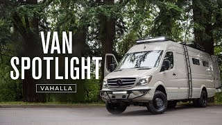 VAN SPOTLIGHT: Valhalla | Outside Van 4x4 170 EXT 3500 Mercedes-Benz Sprinter Conversion