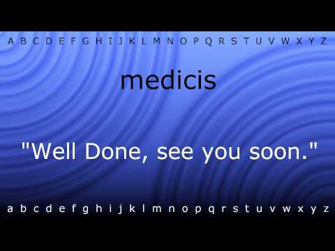 Here I Will Teach You How To Pronounce 'medicis' With Zira.mp4
