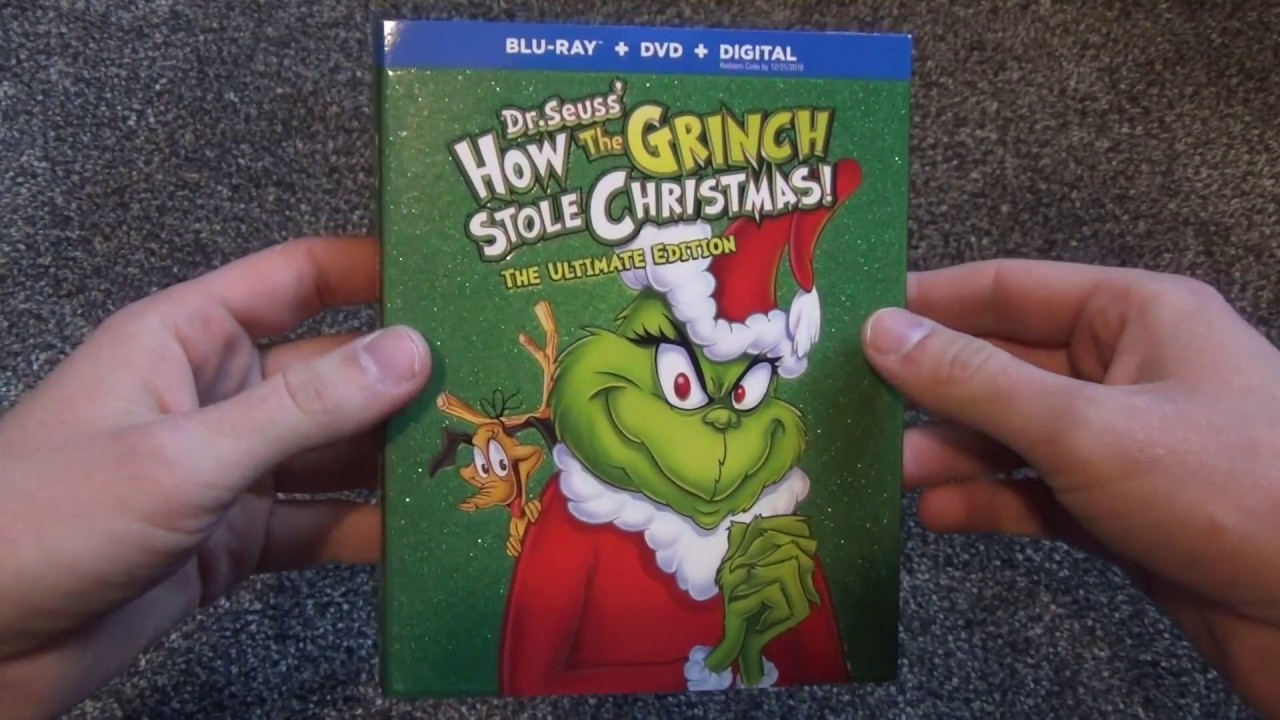 How The Grinch Stole Christmas Blu Ray.Dr Seuss How The Grinch Stole Christmas The Ultimate Edition Blu Ray Unboxing