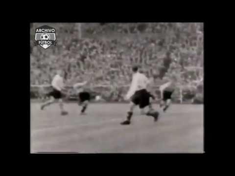 La primera vez que el fútbol se vio en Televisión - archivofutbol