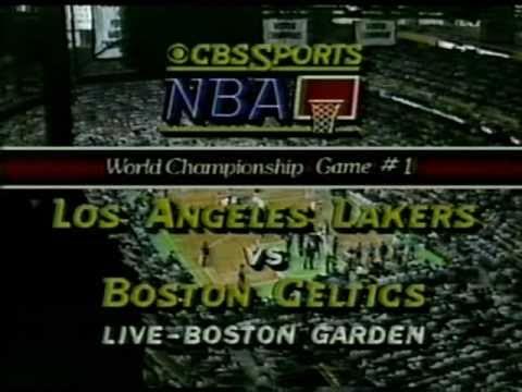 1985 NBA Finals: Lakers at Celtics, Gm 1 part 1/12