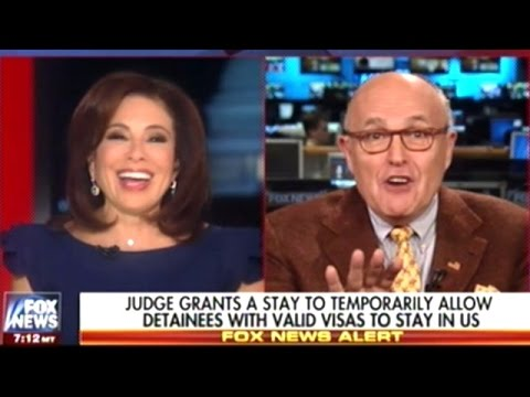 "Giuliani ""When He First Announced It He Said MUSLIM BAN Then He Said Show Me How To Do This Legally"""
