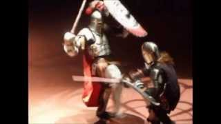 New York Knights full-contact extreme rules armored sword fights