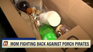 Mom Sets Trap For Package Thieves | The View